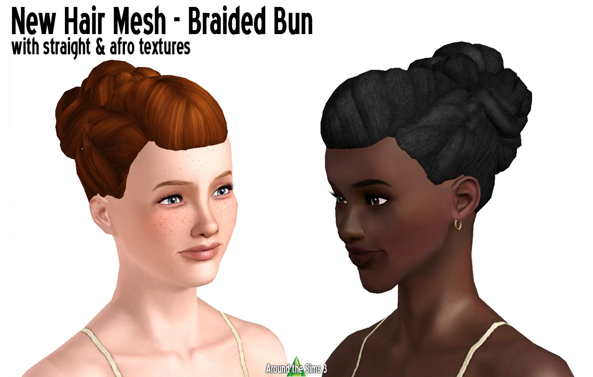 Around The Sims 3 Downloads Hair For Women