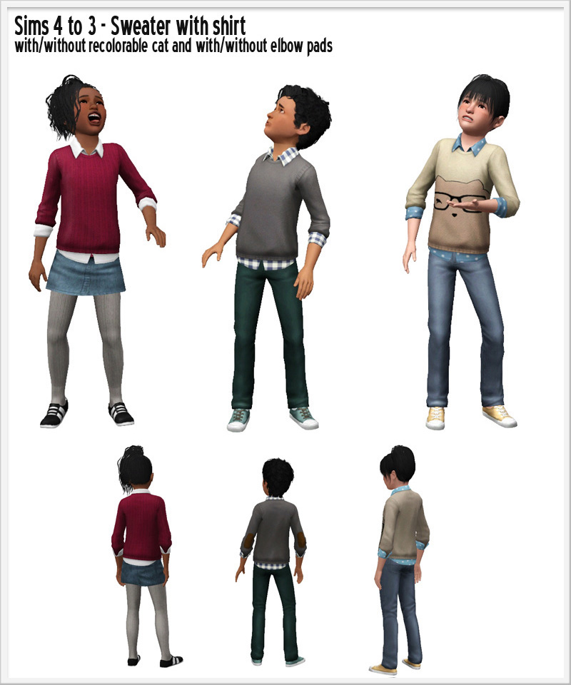 Around The Sims 3 Downloads Clothes Sims 4 To 3