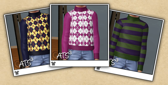 Around the Sims 3  | Cloth for Kids
