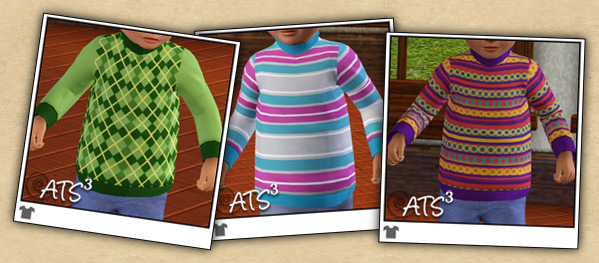 Around the Sims 3  | Cloth for Toddlers