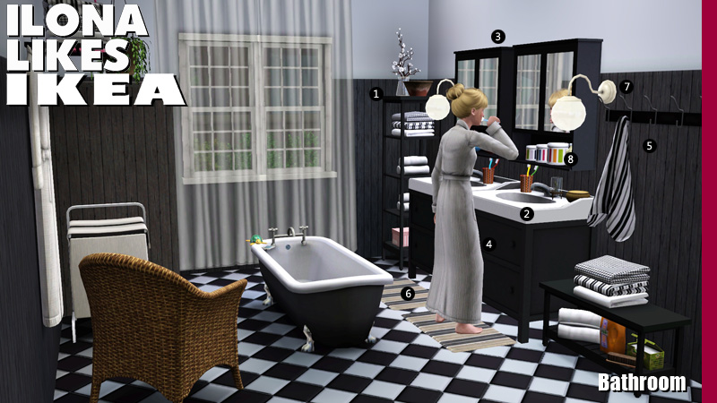 Around the sims 3 custom content downloads objects for Bathroom ideas sims 3
