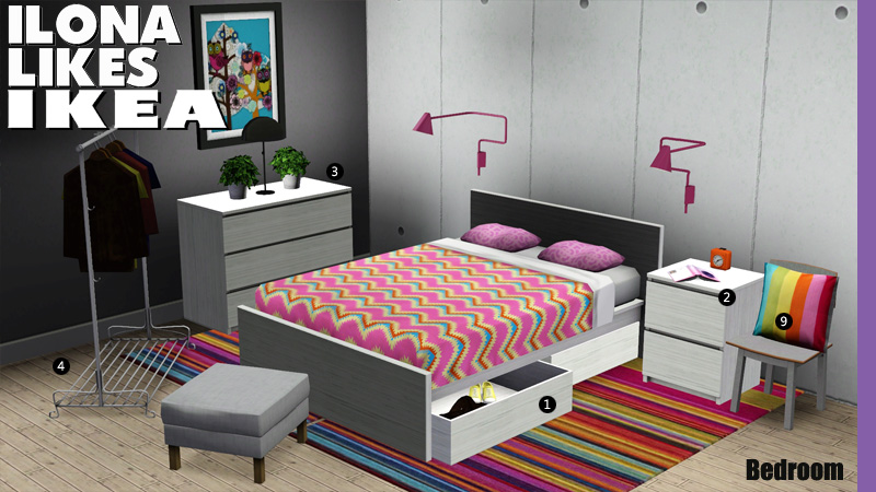 Ikea around the sims 3 pide una descarga para los sims for Muebles para los sims 3