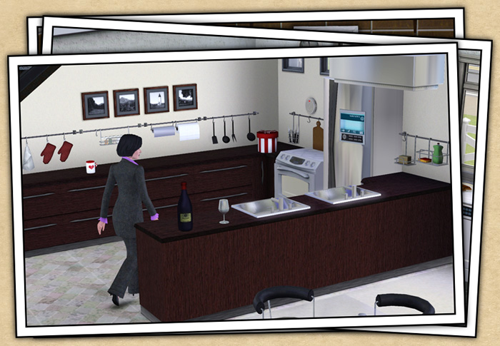Around the sims 3 custom content downloads objects for Sims 3 kitchen designs