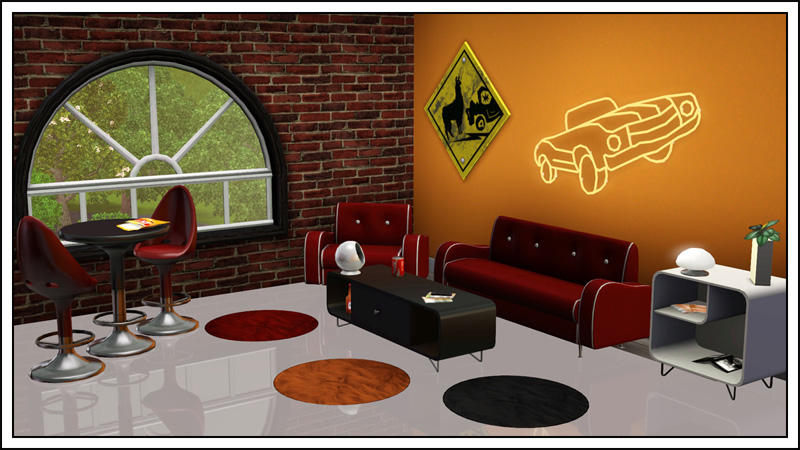 Around the sims 3 custom content downloads objects for Sims 3 dining room ideas
