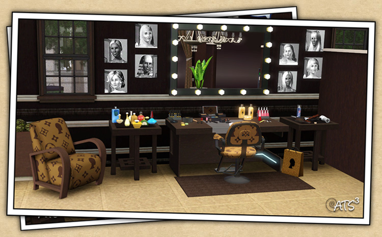 Mod the sims wcif these tables for Salon moderne sims 4