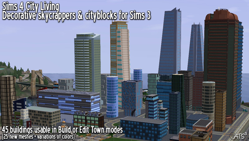 I Ve Been Working On This For Two Months Alternatively With Other Projects But Was My Thing Found Sims 4 City Living Background Pretty