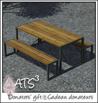 around the sims 3 custom content downloads objects donators gifts. Black Bedroom Furniture Sets. Home Design Ideas