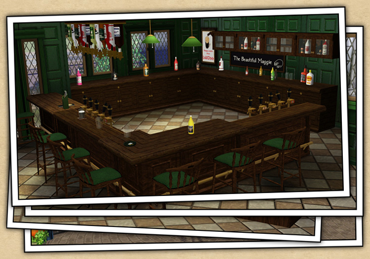 Around the sims 3 custom content downloads objects for Pub cash piscine