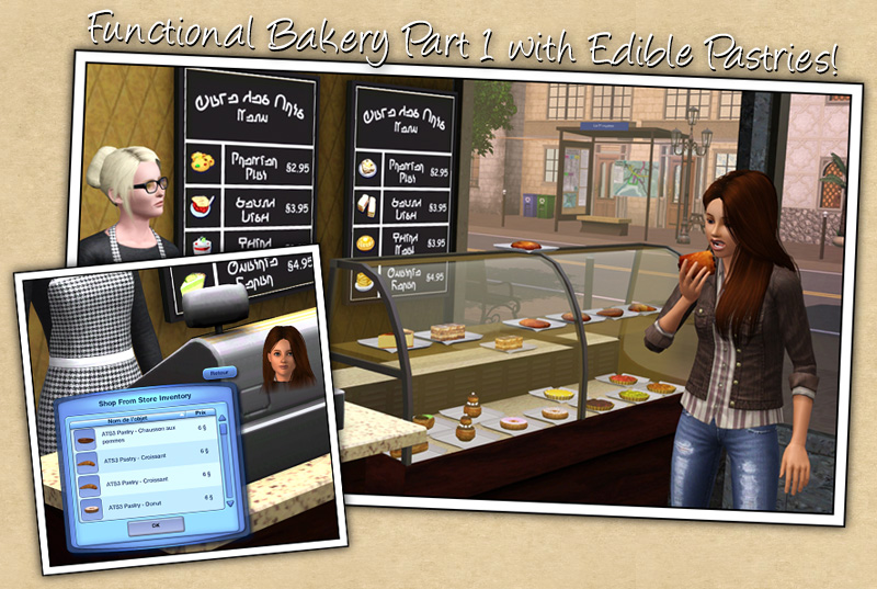 Around the Sims 3 | Custom Content Downloads| Objects | Bakery witth