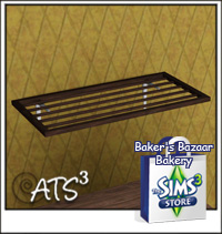 around the sims 3 custom content downloads objects bakery witth custom food. Black Bedroom Furniture Sets. Home Design Ideas