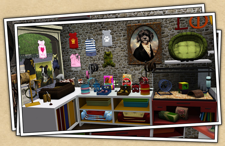 Free downloads / sims 3 / object styles / furnishing / d cor.