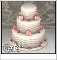 Sims 4 Wedding Cake.Around The Sims 3 Custom Content Downloads Objects Custom Food