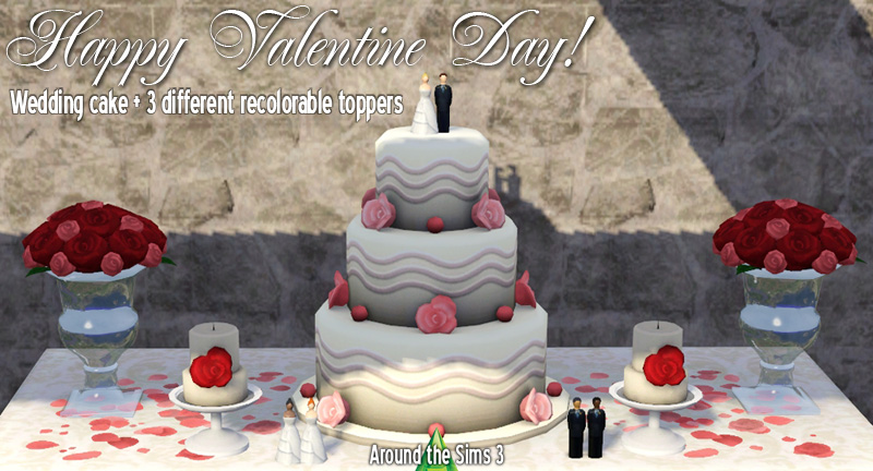 where is the wedding cake in sims 3 generations around the sims 3 free custom content to for 27146