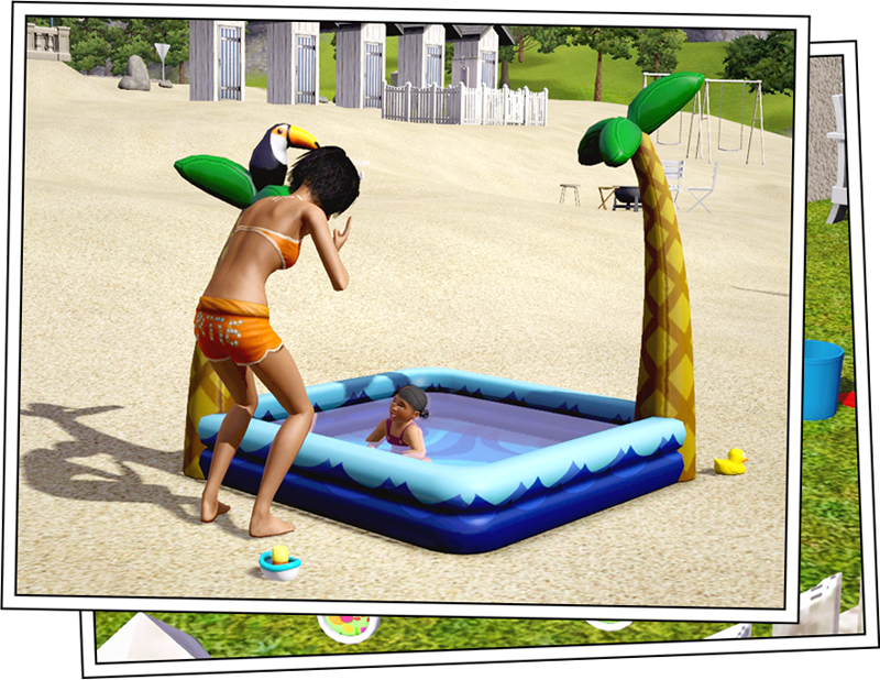 Around the sims 3 custom content downloads objects for Pool design sims 3