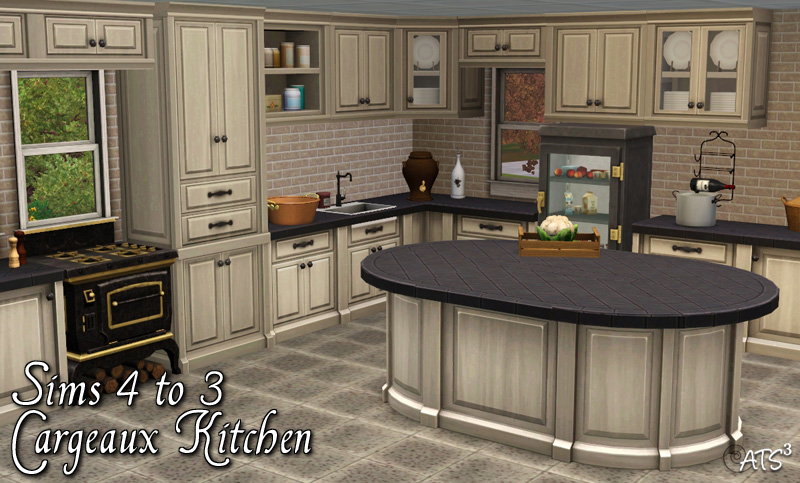 Around the sims 3 custom content downloads objects for Kitchen ideas sims 4