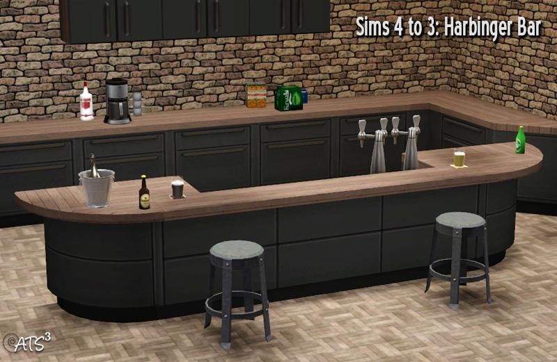 Round Kitchen Island Sims