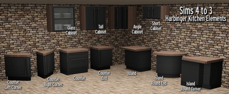 The Sims  Dining Room Sets Custom Content