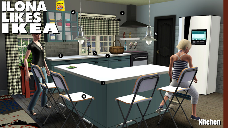 how to make custom furniture on the sims 3