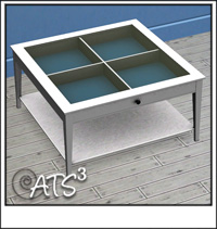 around the sims 3 custom content downloads objects surfaces coffee tables. Black Bedroom Furniture Sets. Home Design Ideas
