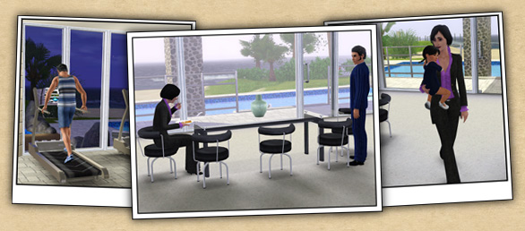 Around the Sims 3 | Custom Content Downloads| Objects | Living