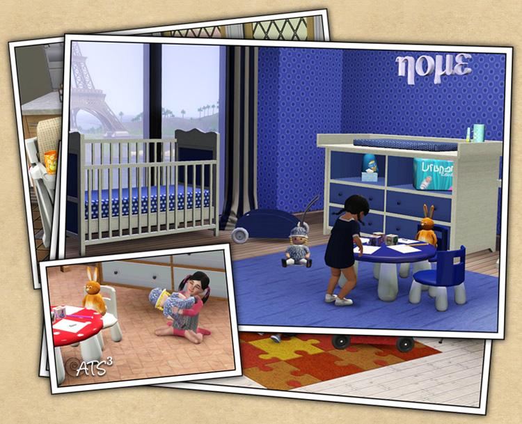 objet pour bambin sims 3