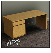 around the sims 3 custom content downloads objects office. Black Bedroom Furniture Sets. Home Design Ideas
