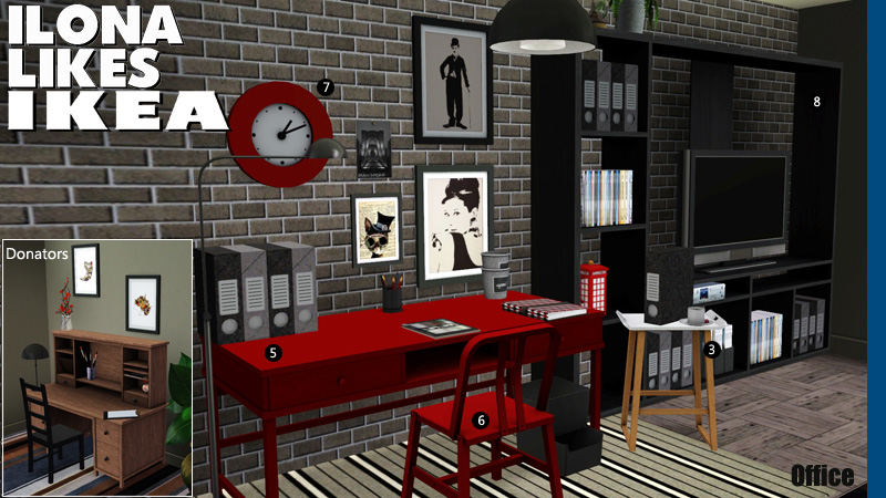 Around the sims 3 custom content downloads objects office