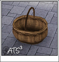 Around the sims 3 custom content downloads objects decorative misc o - Panier de basket exterieur ...