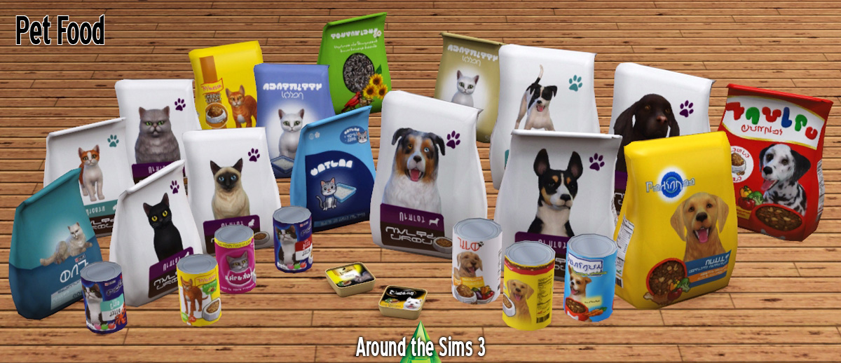 Sims 3 Pet Food