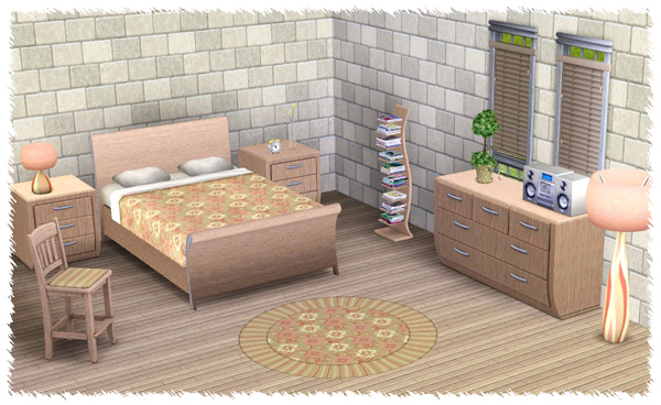 Around the Sims 3 | bedroom | chambre