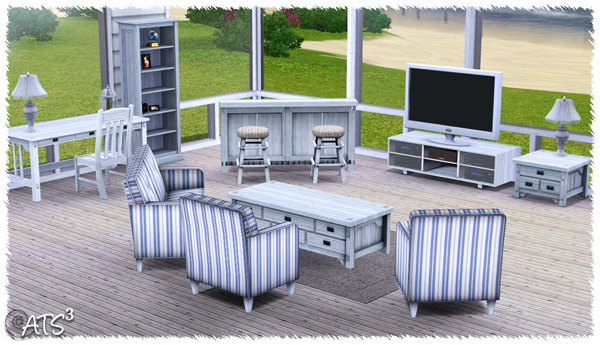 Around the Sims 3 | living-room | salon