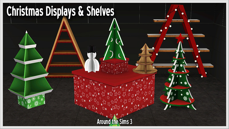 Sims 3 Christmas Tree.Around The Sims 3 Custom Content Downloads Objects