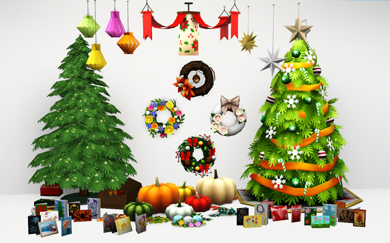 Sims 3 Christmas Tree.Around The Sims 3 Custom Content Downloads Objects Sims